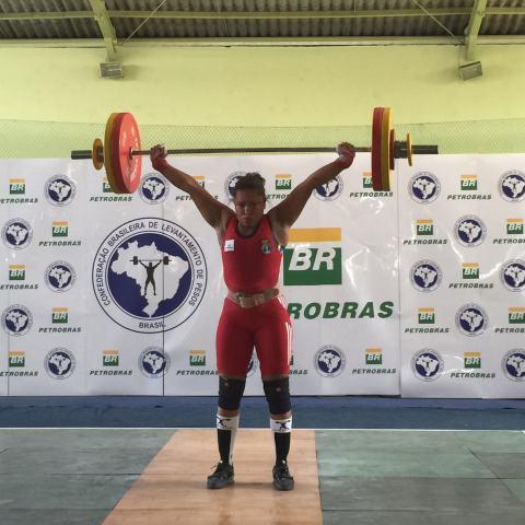 Jaqueline Ferreira está confiante em seu bom desempenho no Mundial