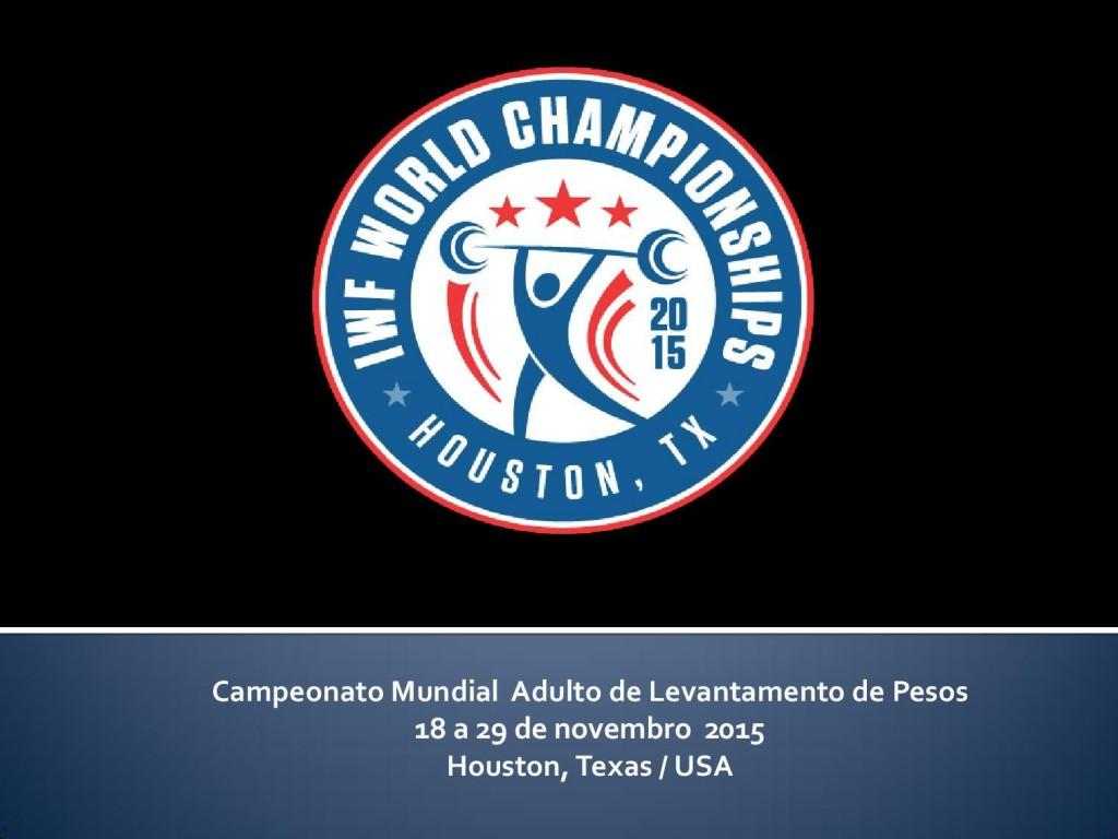 CBLP convoca a Seleção Brasileira para o Campeonato Mundial Adulto 2015
