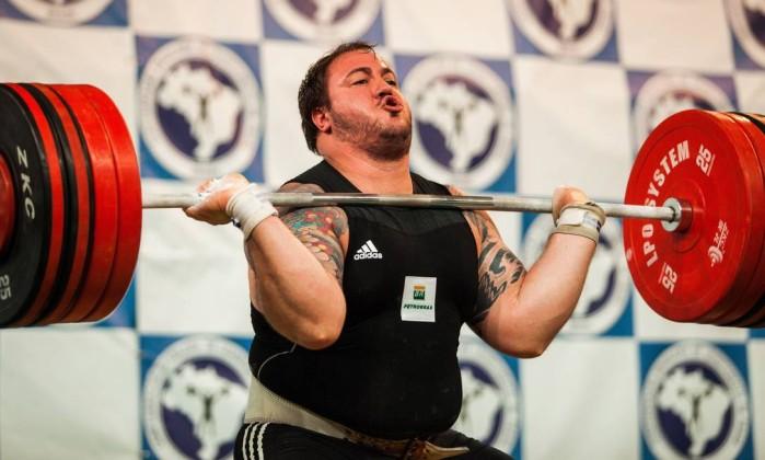 O bicampeão pan-americano Fernando Reis busca mais uma medalha no Campeonato Sul-americano