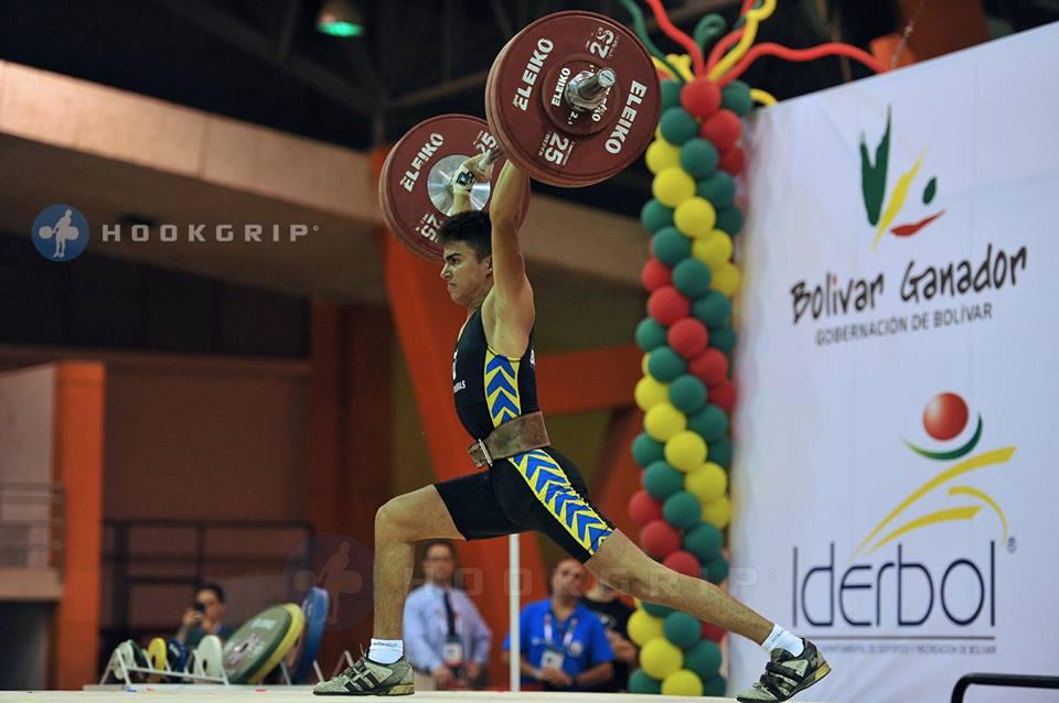 Gabriel Fernandes também representa o Brasil no Mundial Júnior da Geógia. Foto: Divulgação CBLP.