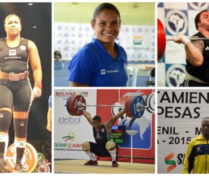 Seleção Olímpica de Levantamento de Pesos - Jogos Rio 2016