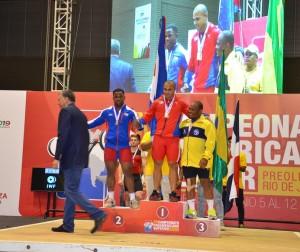 Welisson Rosa: bronze no arremesso da categoria 85 kg