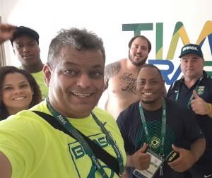 Parte da Seleção Brasileira já está na Vila dos Atletas