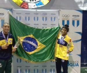 Renan e Laura: cinco medalhas no Pan Sub 17