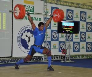 Marco Túlio Machado: melhor atleta no masculino, campeão e recordista dos 94 kg