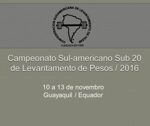 Cartaz Sulamericano Sub 20
